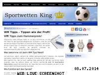 Ranking Webseite sportwetten-king.de