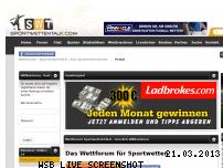 Ranking Webseite sportwettentalk.com