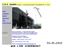 Ranking Webseite sre-gmbh-demontagen.de