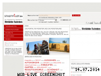 Ranking Webseite stadtpilot.de