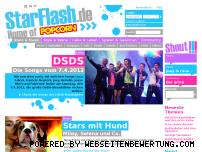 Ranking Webseite starflash.de