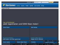 Ranking Webseite stargames.net