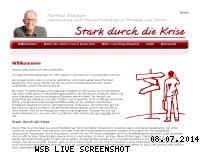 Informationen zur Webseite stark-durch-die-krise.de