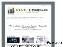 Ranking Webseite start-trading.de