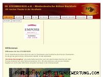Ranking Webseite steenbeeker.de