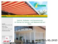 Ranking Webseite steimle-rolladen.de