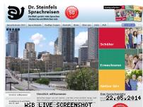 Ranking Webseite steinfels.de