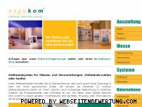 Ranking Webseite stellwand-system.de