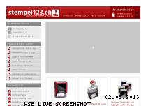 Ranking Webseite stempel123.ch