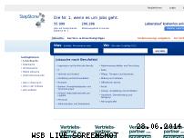 Informationen zur Webseite stepstone.de
