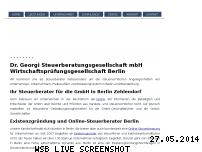 Ranking Webseite steuerberater-georgi.de