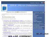 Informationen zur Webseite stgb.de