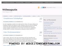 Ranking Webseite stilmagazin.com