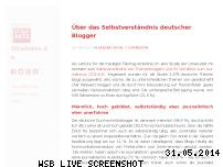 Informationen zur Webseite strafakte.de