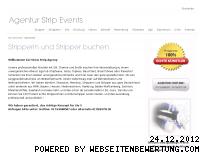 Ranking Webseite strip-events.com