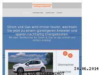 Ranking Webseite strom-gas-shop24.de