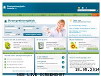 Ranking Webseite strompreisvergleich-kostenlos.de