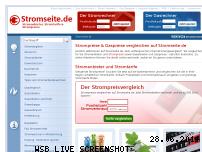 Ranking Webseite stromseite.de
