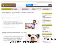 Ranking Webseite studienkredit.de