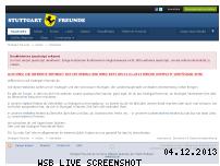Ranking Webseite stuttgart-freunde.de