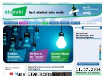 Informationen zur Webseite stuzubi.de
