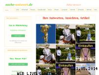Ranking Webseite suche-antwort.de
