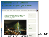 Ranking Webseite suedamerika-deals.de