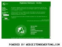 Ranking Webseite suedraum-archiv.de