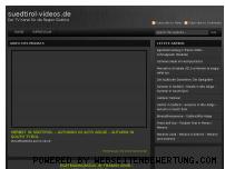 Ranking Webseite suedtirol-videos.de