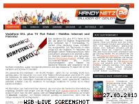 Ranking Webseite surfen.bei.handy-netz24.de