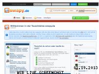 Ranking Webseite swapy.de
