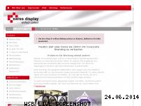 Ranking Webseite swissdisplay.de