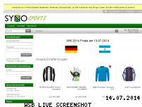 Ranking Webseite syno-sports.de