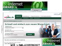 Ranking Webseite sz-jobs.de