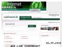 Ranking Webseite sz-pinnwand.de