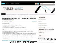 Ranking Webseite tablet-market.de