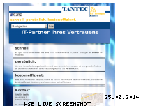 Ranking Webseite tantec-it.de