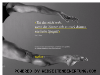 Ranking Webseite tanz-ist-klasse.de