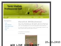 Ranking Webseite tarek-golf.de