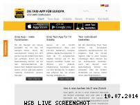 Informationen zur Webseite taxi.eu