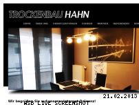 Ranking Webseite tb-hahn.de