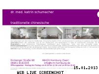 Informationen zur Webseite tcm-homburg.de