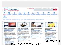 Ranking Webseite tecchannel.de