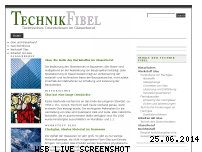 Informationen zur Webseite technik-fibel.de
