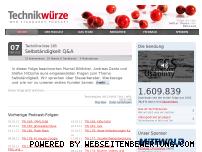 Ranking Webseite technikwuerze.de