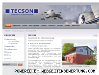 Ranking Webseite tecson.de