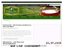 Ranking Webseite teelog.de