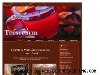 Ranking Webseite teestueberl.de