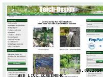 Ranking Webseite teichdesign.de