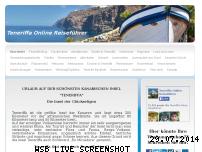 Informationen zur Webseite teneriffaurlaub.es